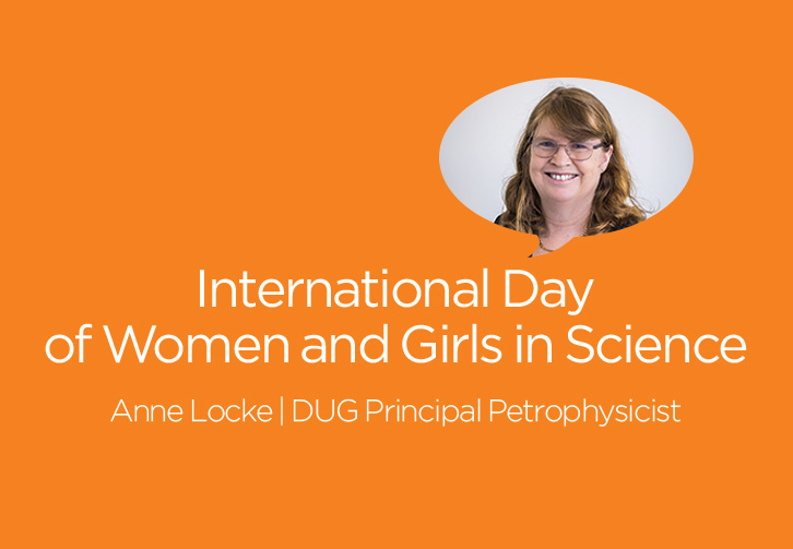 Anne Locke, Principal Petrophysicist and Geologist for DUG