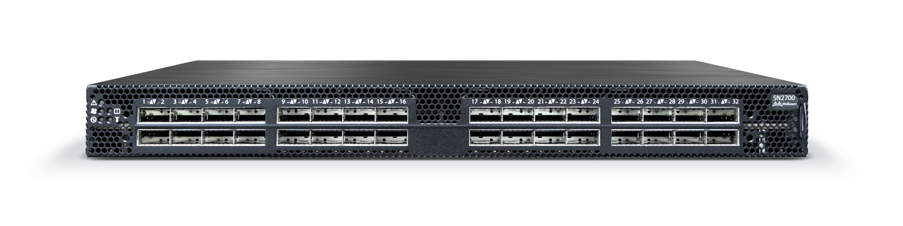 Mellanox's SN2700 32 port 100Gb/s Ethernet switch