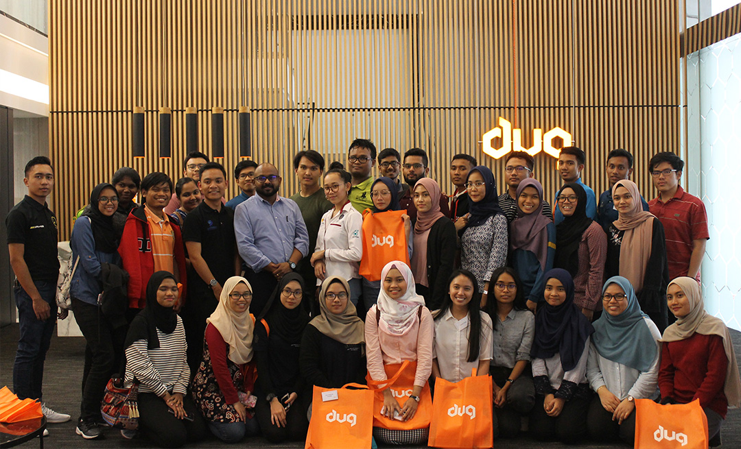 UTP students visit DUG