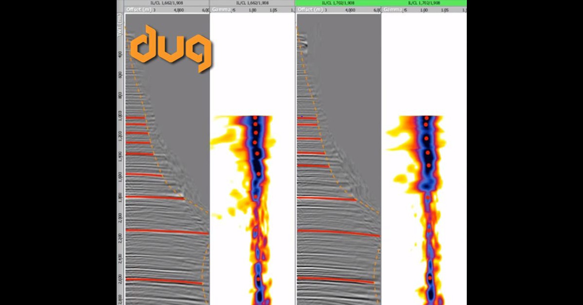 DUG-Insight's RMO workflow easily handles parabolic, non-parabolic and anisotropic residual move-out.